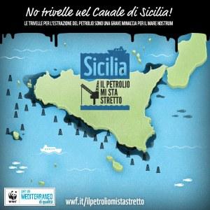 """foto©WWF- """"Sicilia, il petrolio mi sta stretto"""""""