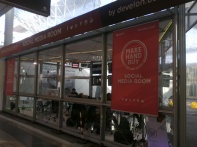 Postazione multimediale e trolley