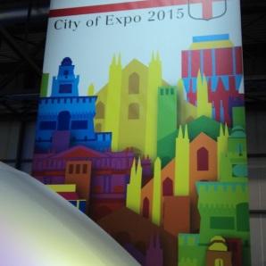 Lo stand della città di Milano