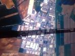 Treviso, zona industriale vista dal satellite