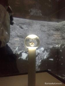 unico frammento di suolo lunare esposto a Milano