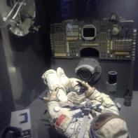 a bordo della Soyuz