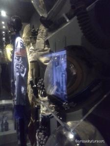 Tute spaziali e oggetti delle missioni spaziali