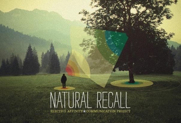 La locandina della mostra e del progetto Natural Recall