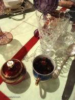 tavola delle feste vintage