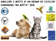 """""""No Botti 2015"""" - campagna di associazioni varie"""