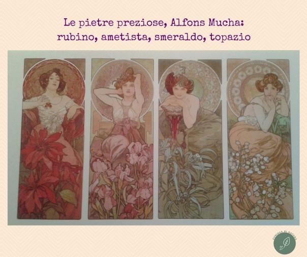 Le pietre preziose, Alfons Mucha