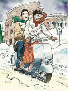 Vacanze Romane di Stefano Casini per Green Drop Award