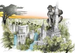 King Kong di Gabriele Salimbeni per Green Drop Award